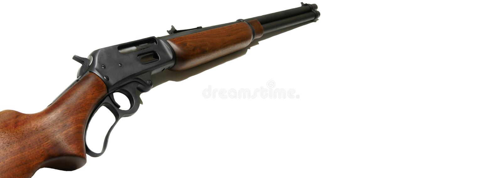 Rifle web banner royalty free stock images