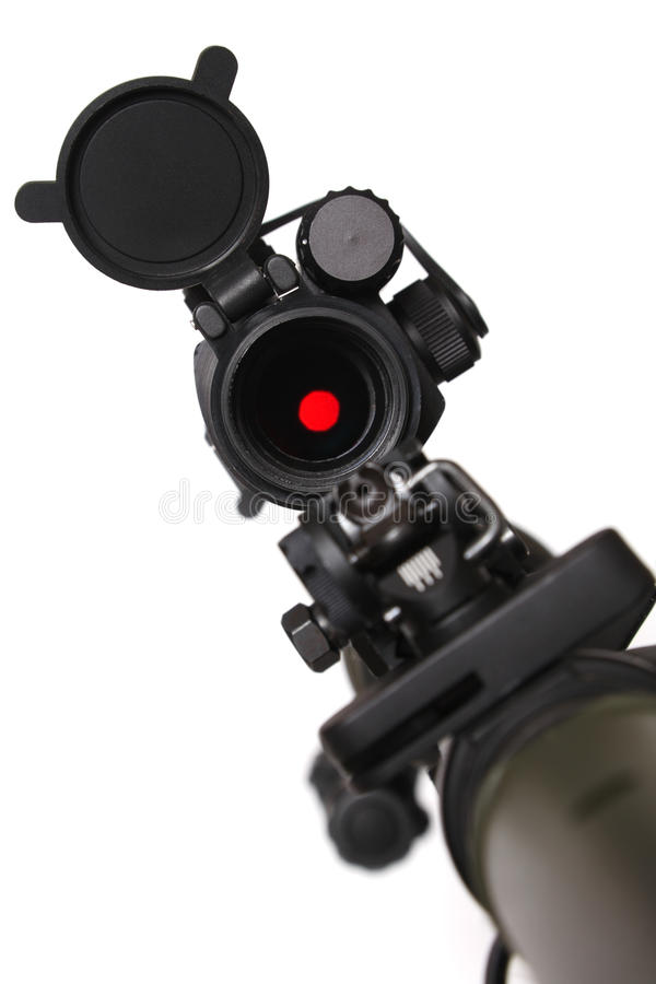 Free Rifle With Red Dot Sight On It. Stock Photography - 13162672
