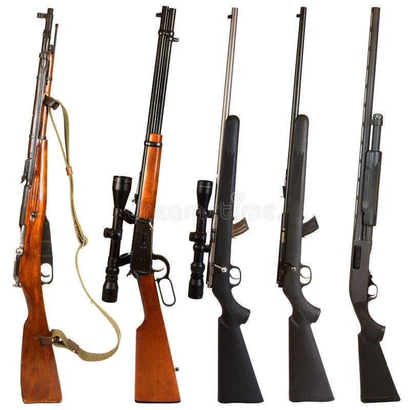 Rifles foto de archivo