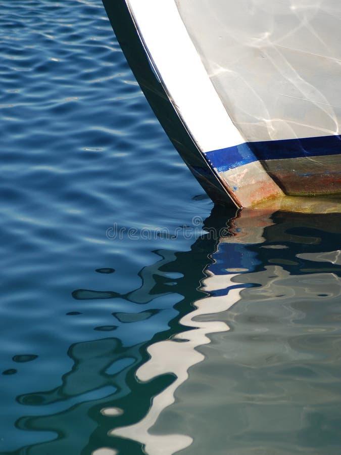 Riflessione su acqua fotografie stock