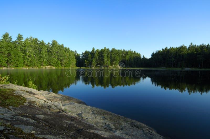 Riflessioni del lago immagini stock