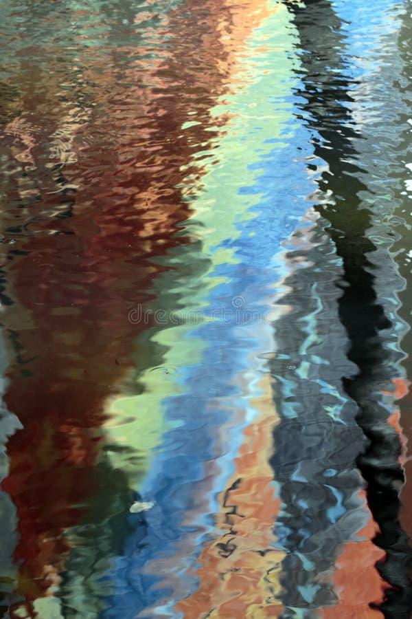 Riflessioni dell'arcobaleno fotografia stock libera da diritti