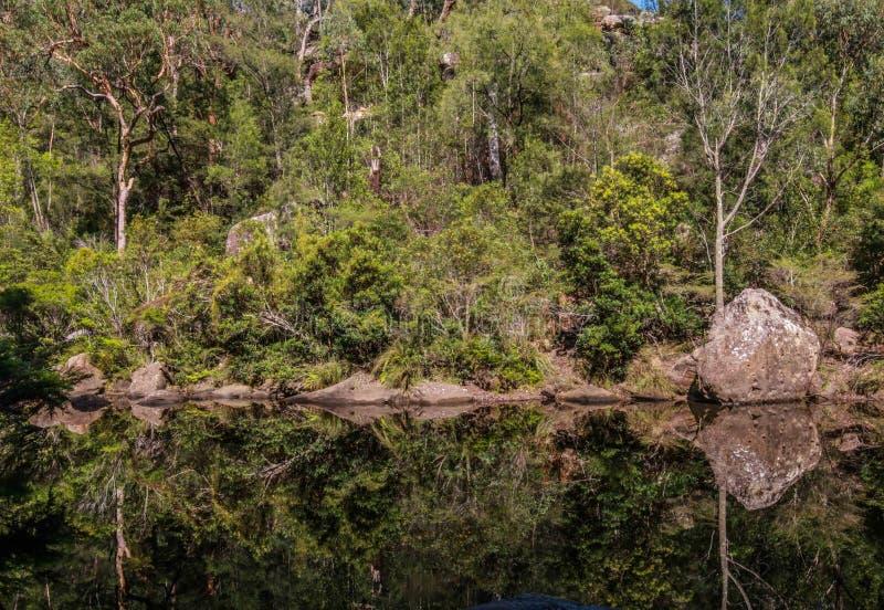 Riflessioni di Glenbrook fotografie stock