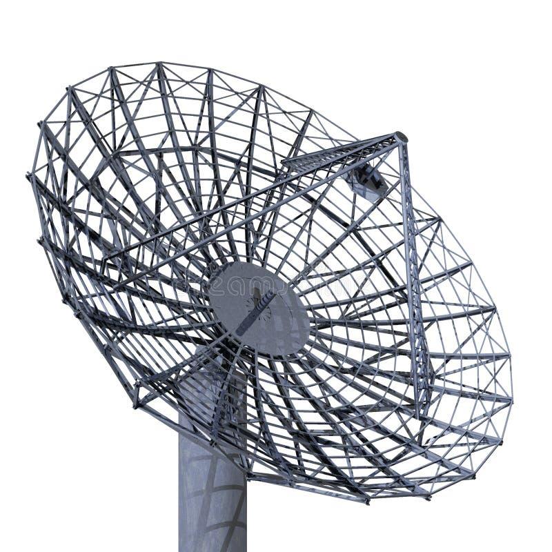 Riflettore parabolico illustrazione di stock