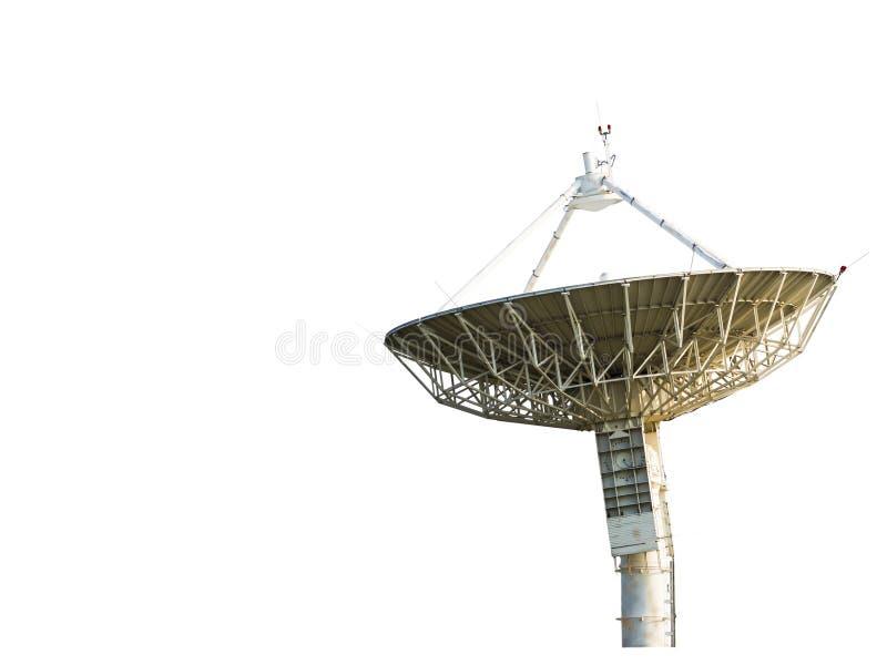 Riflettore parabolico che riceve il segnale di dati immagine stock libera da diritti