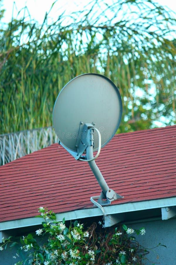 Riflettore parabolico della TV immagine stock libera da diritti