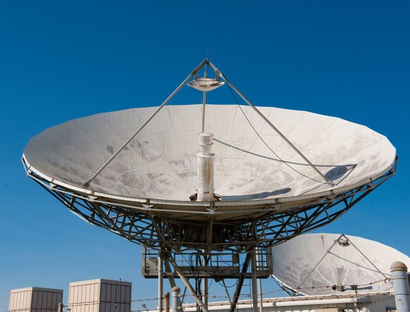 Riflettore parabolico radiofonico immagini stock