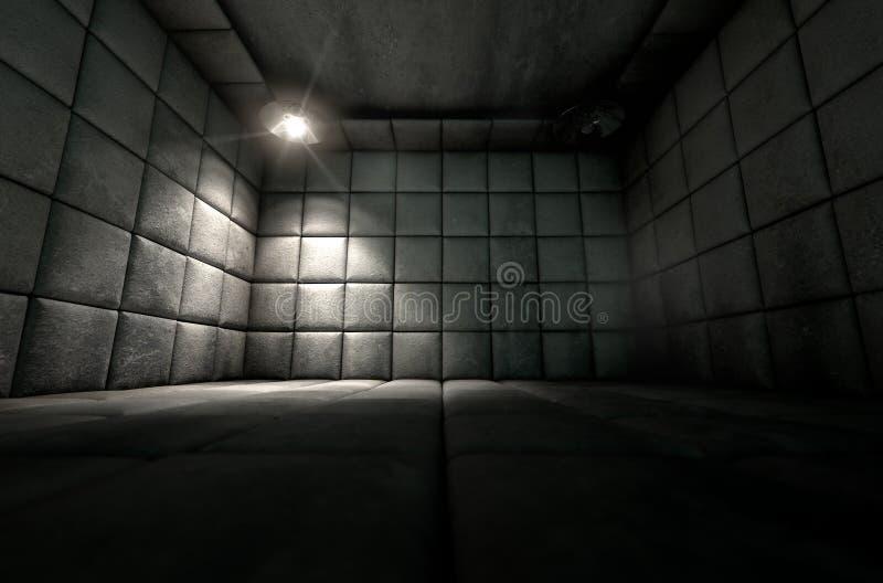 Riflettore sporco riempito delle cellule immagini stock libere da diritti