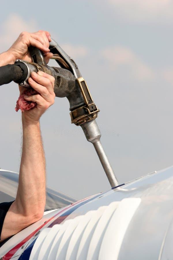 Rifornisca di carburante immagini stock libere da diritti