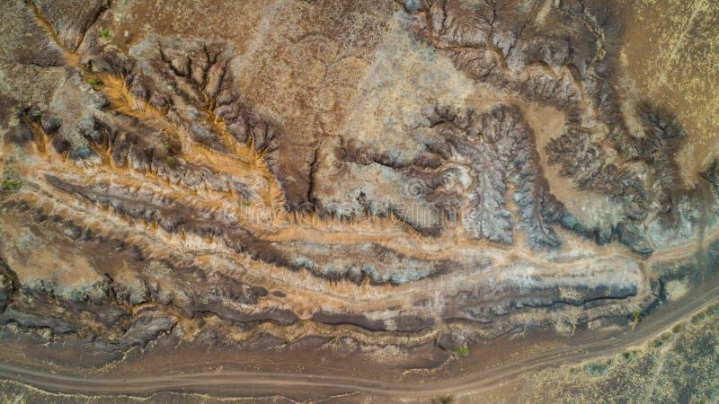 Rift Valley geografico della caratteristica, Tanzania immagini stock