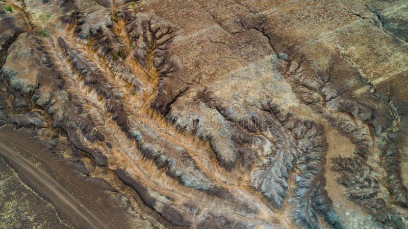 Rift Valley geografico della caratteristica, Tanzania fotografie stock