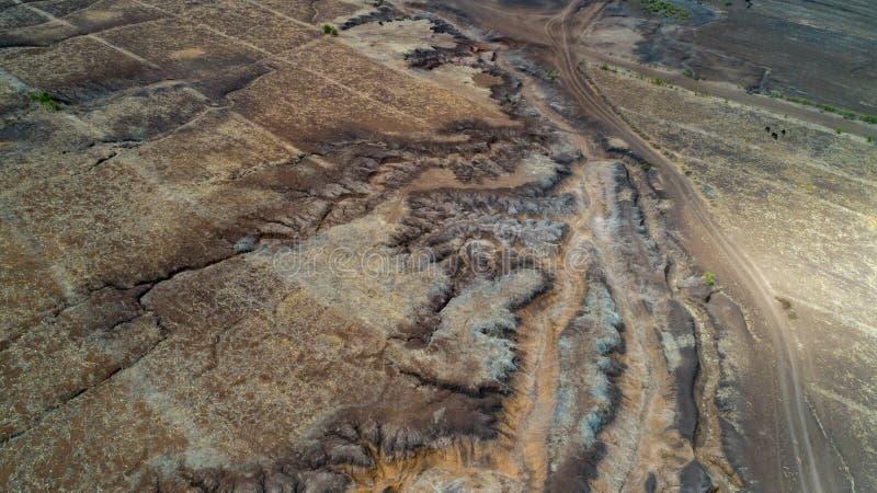 Rift Valley geografico della caratteristica, Tanzania fotografia stock