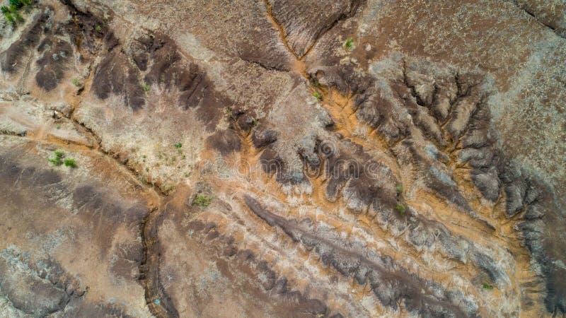 Rift Valley geografico della caratteristica, Tanzania fotografie stock libere da diritti