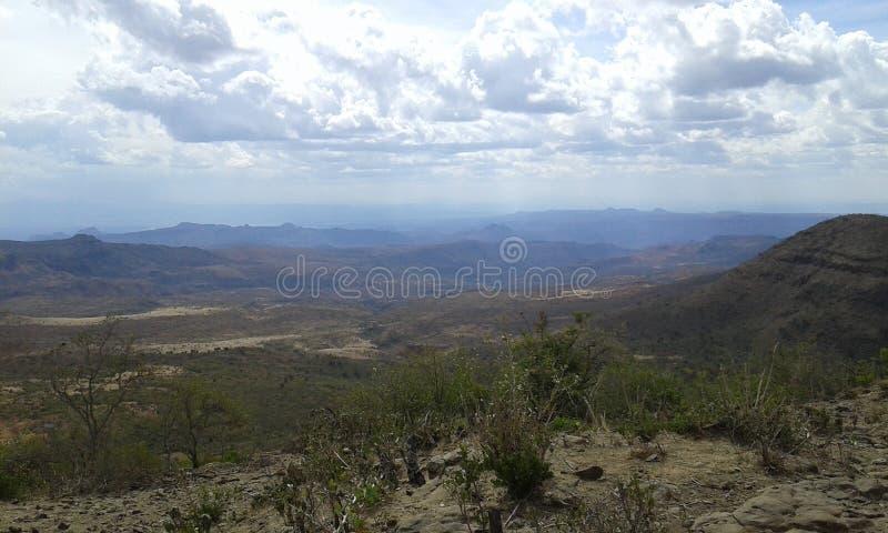 Riftvalleyebenen stockfoto