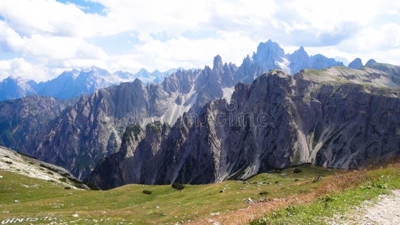 Rifugio Auronzo, Dolomites - Tre Cime di Lavaredo royaltyfri fotografi