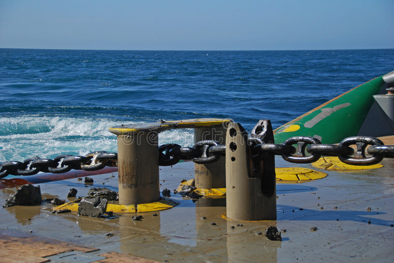 Download Rig Move Of An Semi Submersible Drilling Rig Stock Image - Image: 9103367