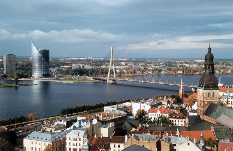 Riga photographie stock