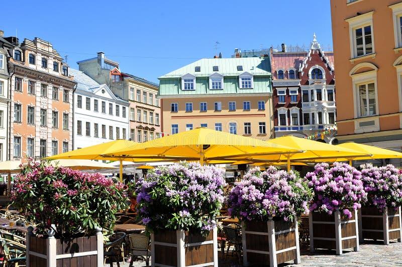 Riga stock afbeelding