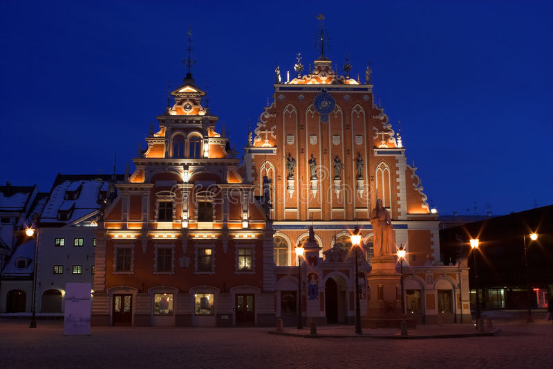 Riga royalty-vrije stock fotografie