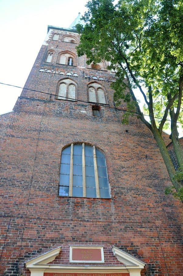 Riga August 22 2014-Cathedral Sveta Jekaba from Riga in Latvia royalty free stock images