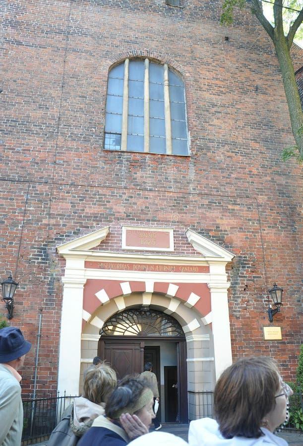 Riga August 22 2014-Cathedral Sveta Jekaba from Riga in Latvia stock photography
