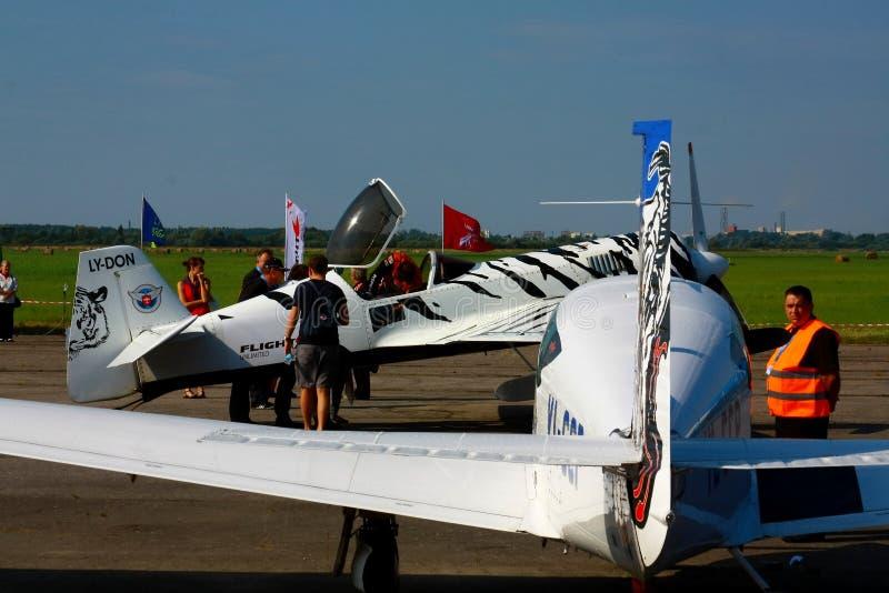 Riga aviation festival 2013 stock image