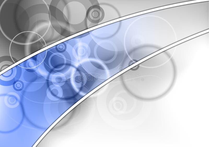 Riga blu illustrazione vettoriale