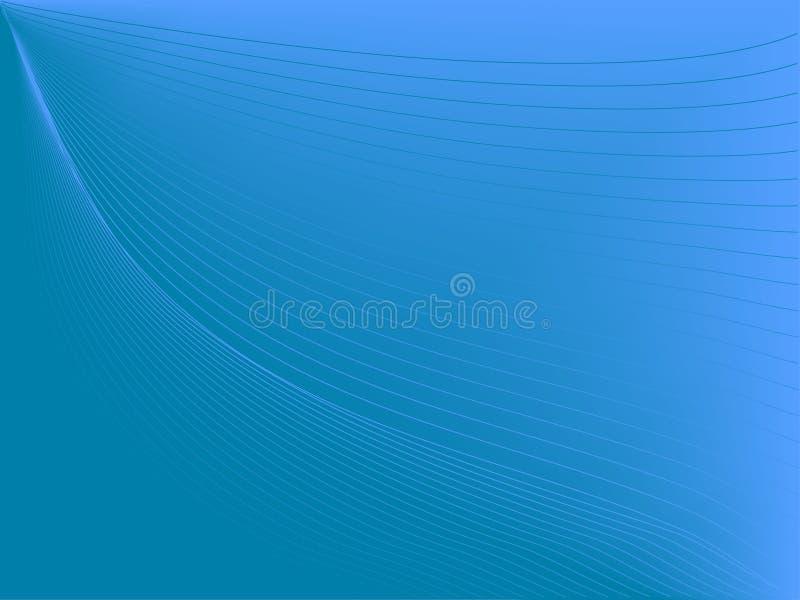 Riga blu profonda illustrazione di stock