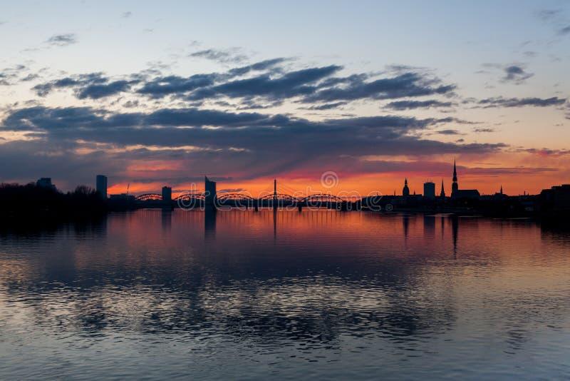 Riga bonito imagem de stock