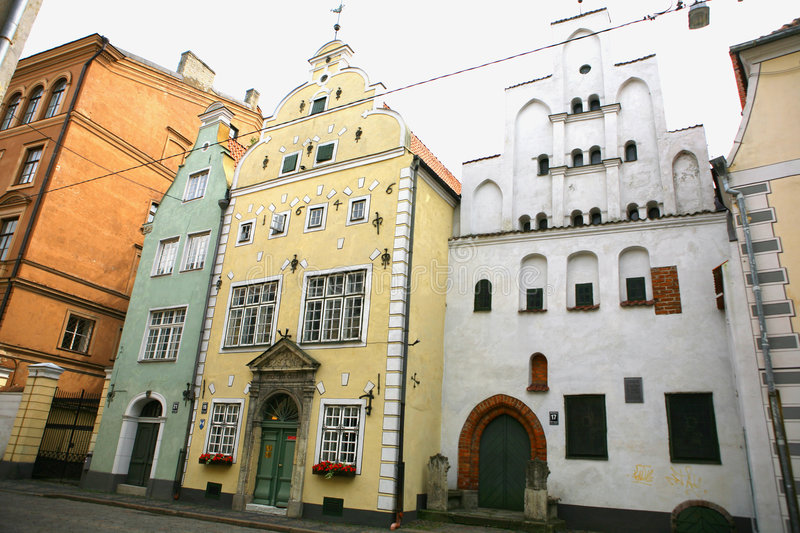 Riga - capital of Latvia. Old Town. royalty free stock images