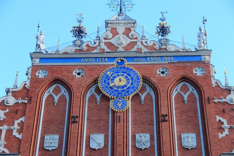 Riga, casa de espinillas fotos de archivo libres de regalías