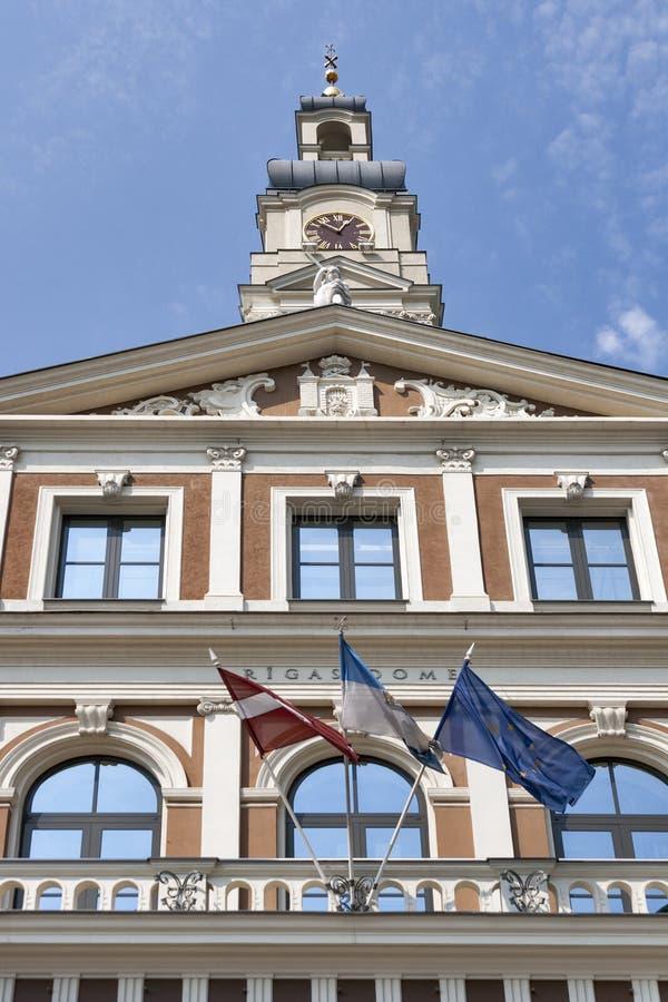 Riga City Council royalty free stock image