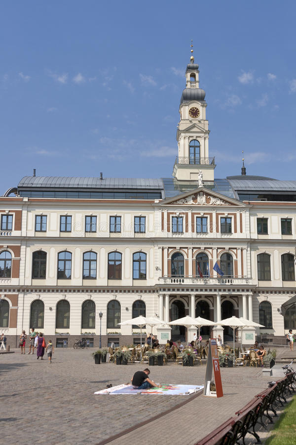 Riga City Council royalty free stock images