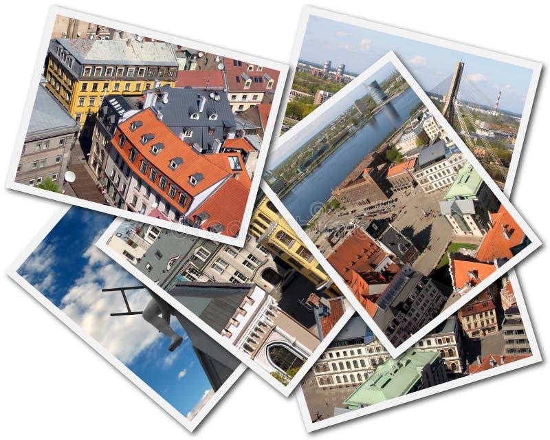 Riga Collage stock photos