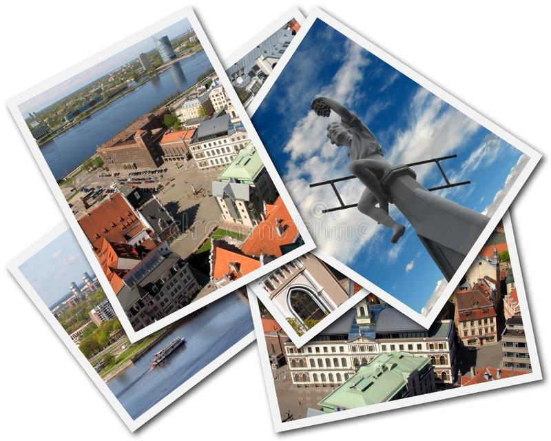 Riga Collage royalty free stock image