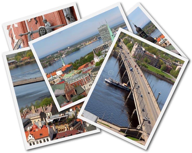 Riga Collage stock photo