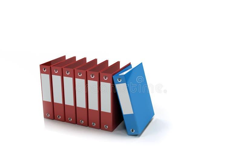 Riga dei dispositivi di piegatura di contabilità royalty illustrazione gratis