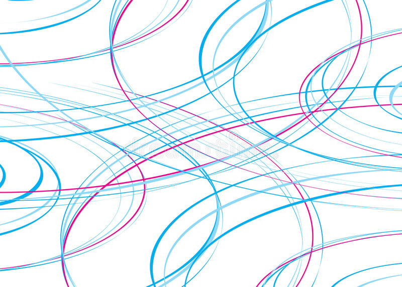 Riga dell'onda del Rainbow illustrazione vettoriale