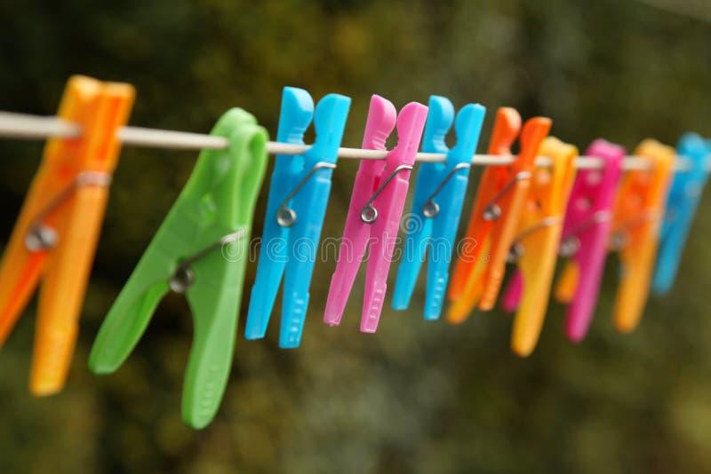Riga della lavanderia immagine stock libera da diritti