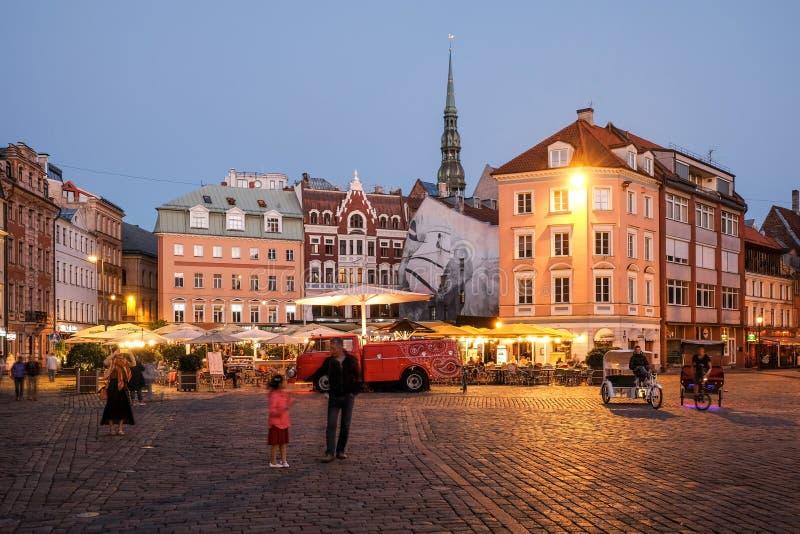 Riga Dom Square imagen de archivo