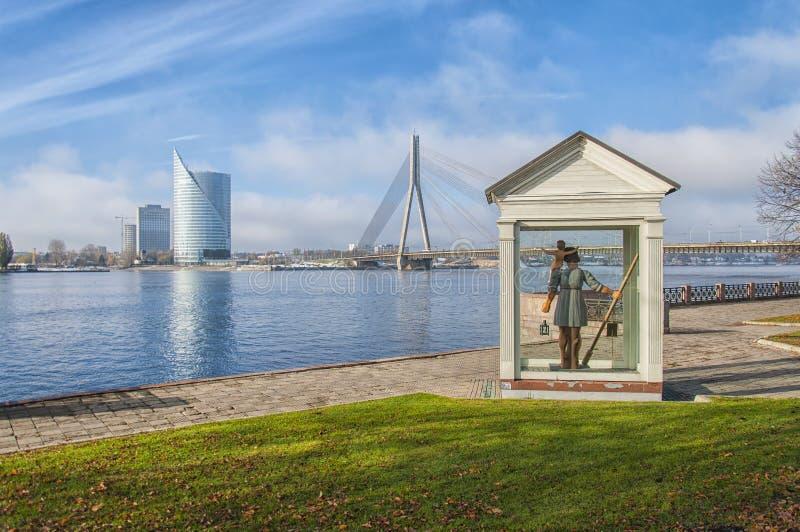 Riga grande Christopher fotografie stock libere da diritti