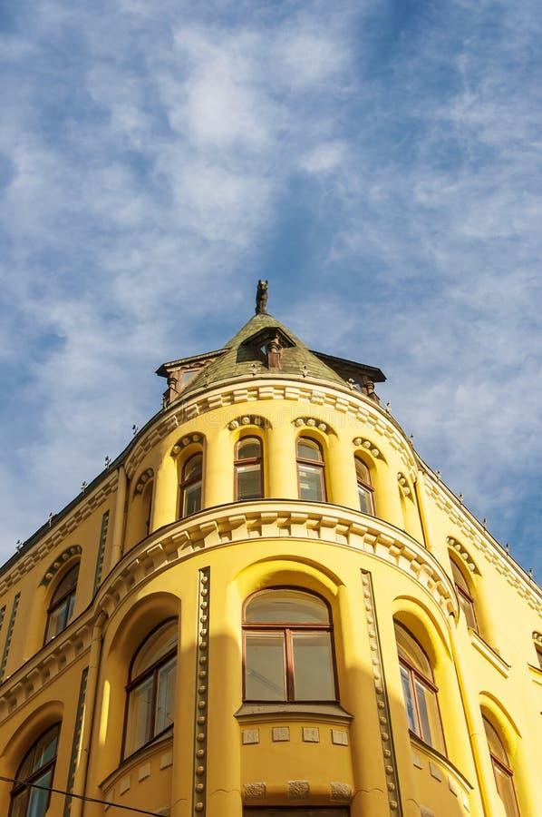 Riga-Katze-Haus 01 lizenzfreie stockbilder