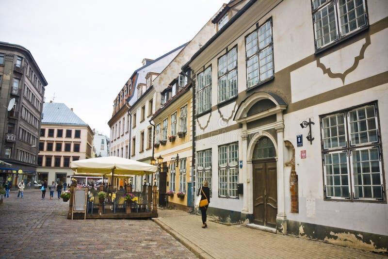 Riga, Latvia immagini stock libere da diritti