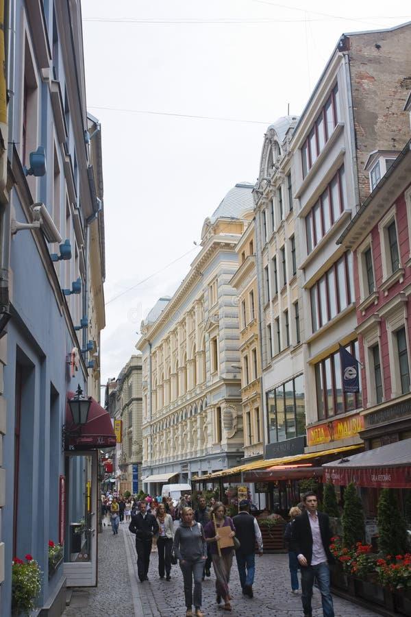 Riga, Latvia immagini stock