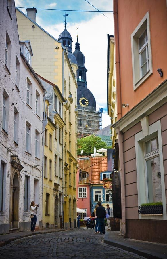 Riga, Latvia immagine stock libera da diritti