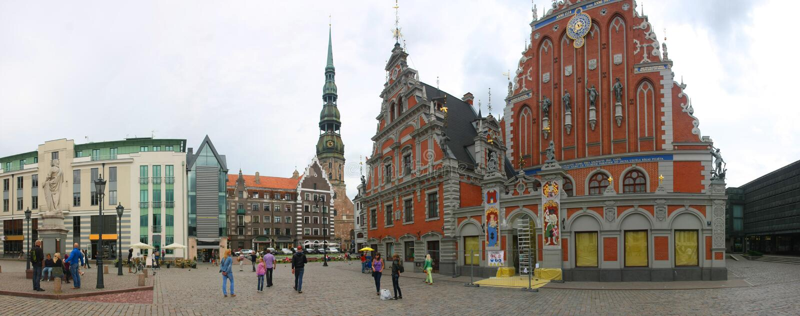 Riga, Latvia immagine stock