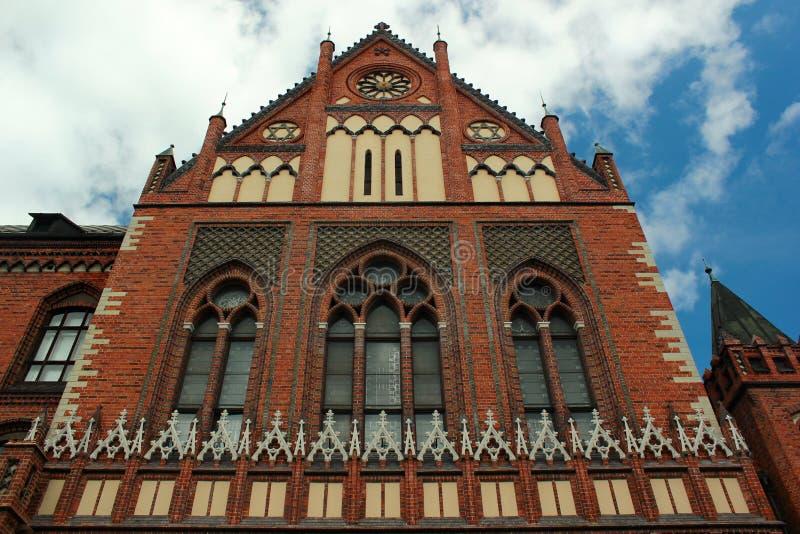 Art Academy in Riga, Latvia royalty free stock photos