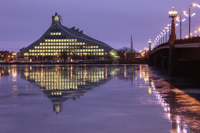Riga, Latvia - Library stock images