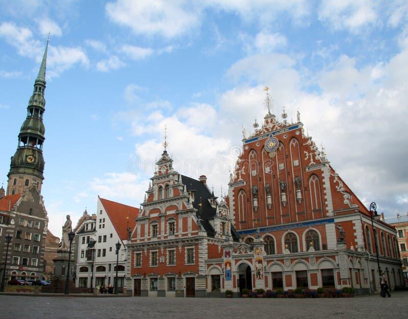 Riga, Letland royalty-vrije stock afbeelding