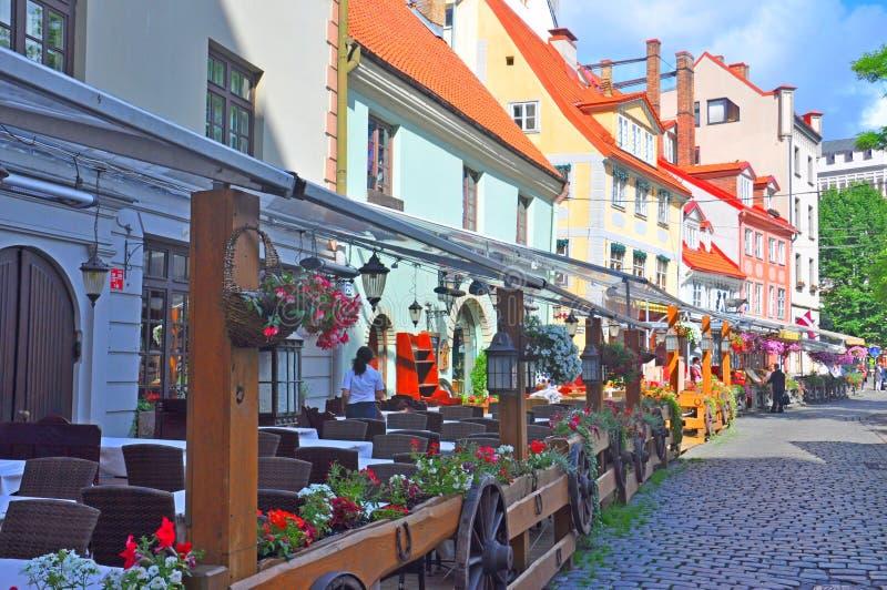Riga, Letland stock foto